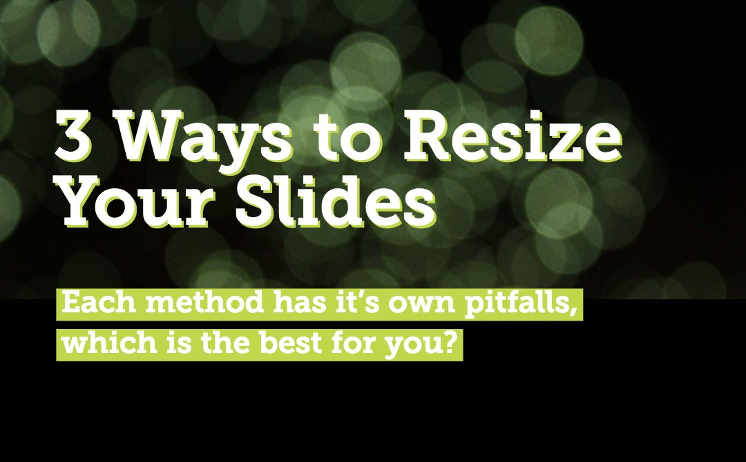 3 Ways to Resize Your Slides in PowerPoint