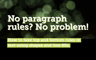 No paragraph rule styles in PowerPoint? No problem!